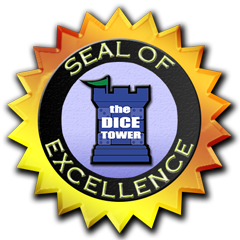Seal of Excellence from the Dice Tower